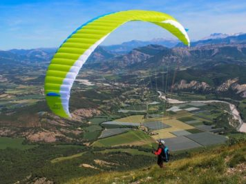 boutique parapente full blue sky